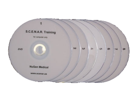 SCENAR live training 8 DVD's - professionally filmed two full days of live instruction